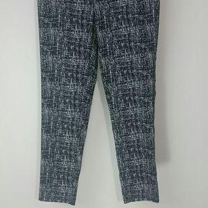 Rafaella Pants - Pants pull on black and white